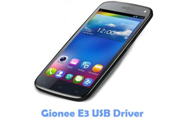 Download Gionee E3 USB Driver
