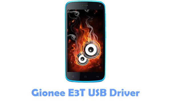 Download Gionee E3T USB Driver