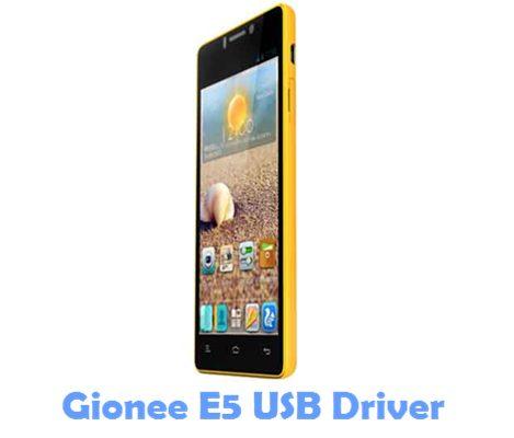 Download Gionee E5 USB Driver