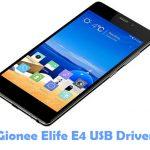 Gionee Elife E4 USB Driver