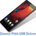 Gionee F103 USB Driver