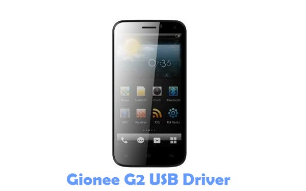 Download Gionee G2 USB Driver