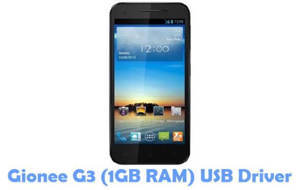 Download Gionee G3 (1GB RAM) USB Driver