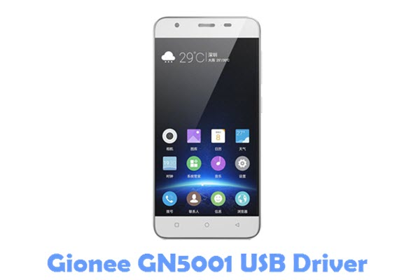 Download Gionee GN5001 USB Driver
