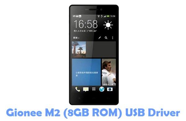 Download Gionee M2 (8GB ROM) USB Driver