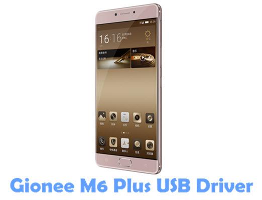 Download Gionee M6 Plus USB Driver