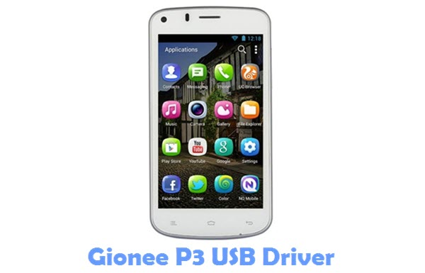 Download Gionee P3 Firmware