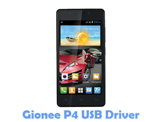 Download Gionee P4 USB Driver