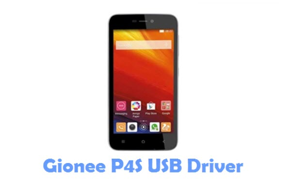 Download Gionee P4S USB Driver