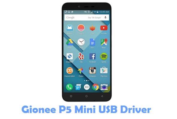Download Gionee P5 Mini USB Driver