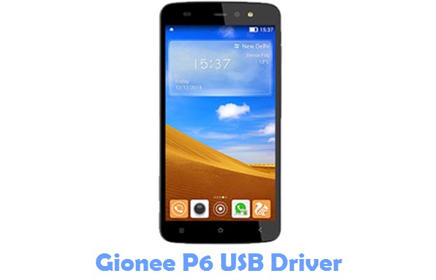 Download Gionee P6 USB Driver