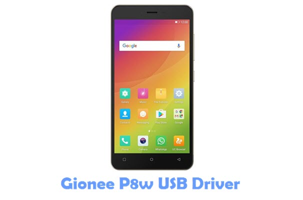 Download Gionee P8w USB Driver