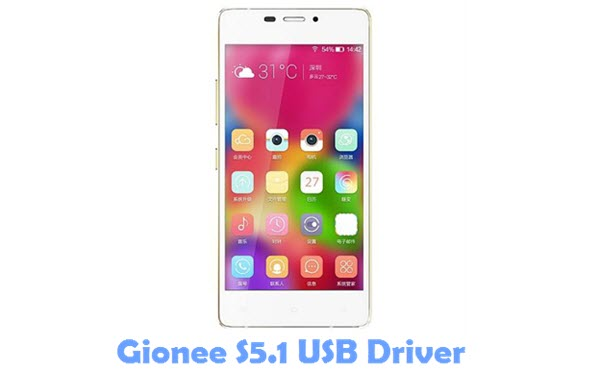 Download Gionee S5.1 USB Driver