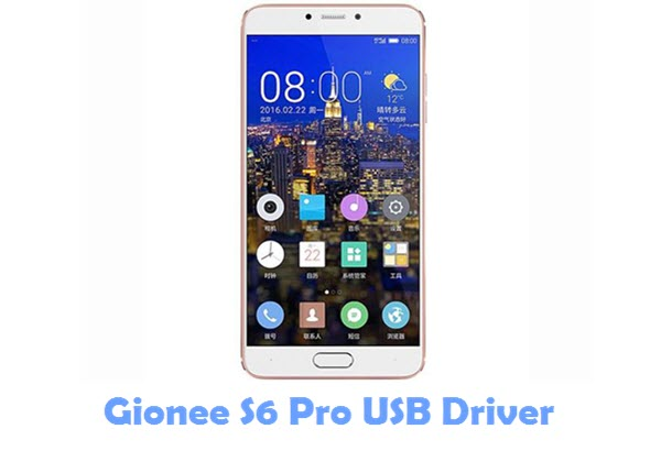 Download Gionee S6 Pro USB Driver