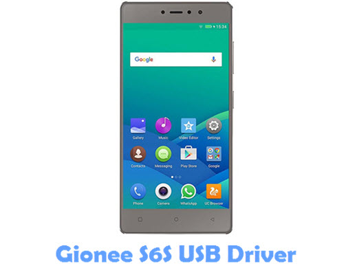 Download Gionee S6S USB Driver