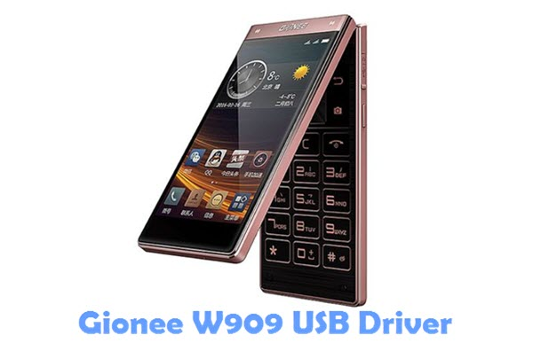 Download Gionee W909 USB Driver