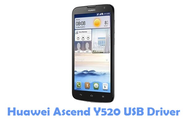 Download Huawei Ascend Y520 USB Driver