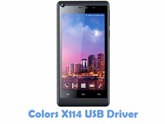 Download Colors X114 USB Driver