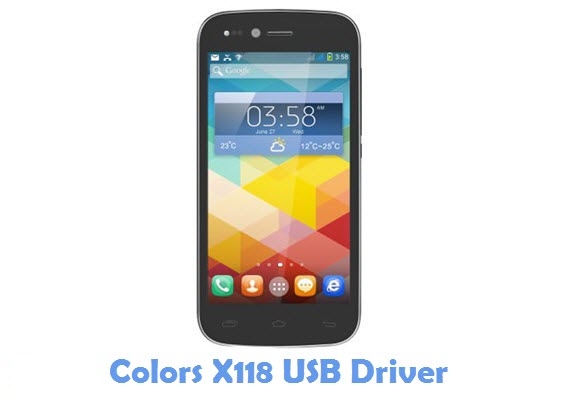 Download Colors X118 USB Driver