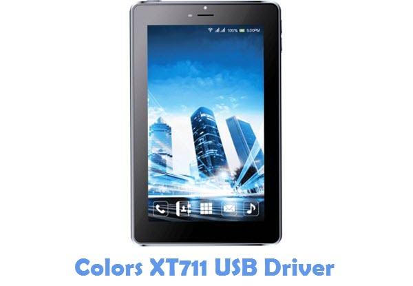 Download Colors XT711 USB Driver
