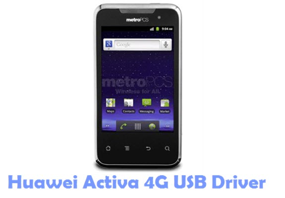 Download Huawei Activa 4G USB Driver