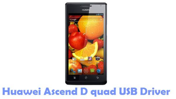 Download Huawei Ascend D quad USB Driver