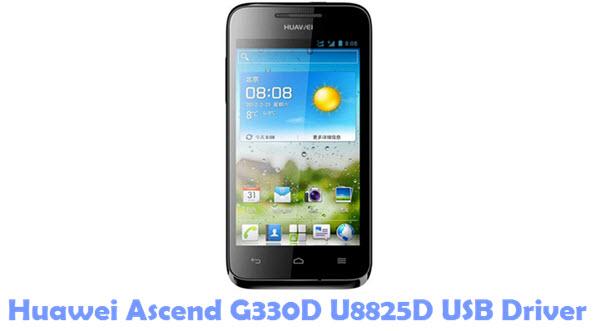 Download Huawei Ascend G330D U8825D USB Driver