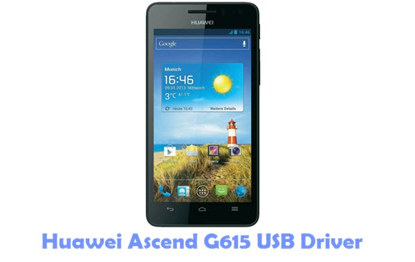 Download Huawei Ascend G615 USB Driver