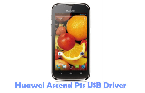 Download Huawei Ascend P1s USB Driver