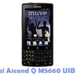 Huawei Ascend Q M5660 USB Driver