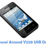 Huawei Ascend Y220 USB Driver