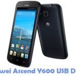 Huawei Ascend Y600 USB Driver