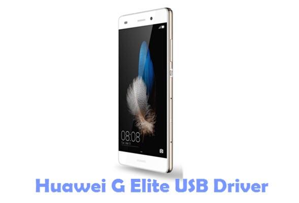 Download Huawei G Elite USB Driver