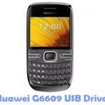 Huawei G6609 USB Driver