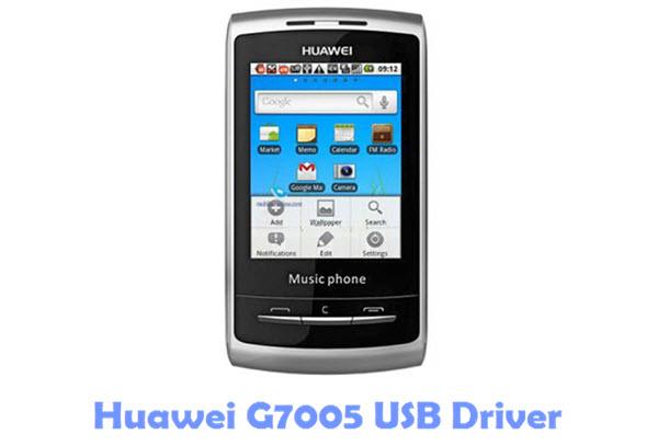 Download Huawei G7005 USB Driver