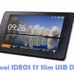 Huawei IDEOS S7 Slim USB Driver