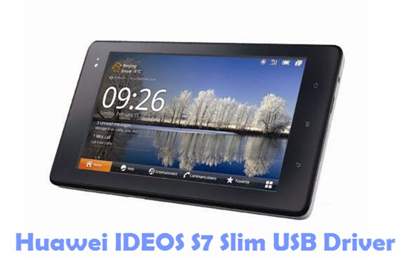 Download Huawei IDEOS S7 Slim USB Driver