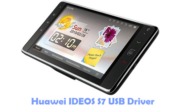 Download Huawei IDEOS S7 USB Driver