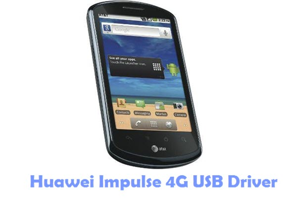 Download Huawei Impulse 4G USB Driver