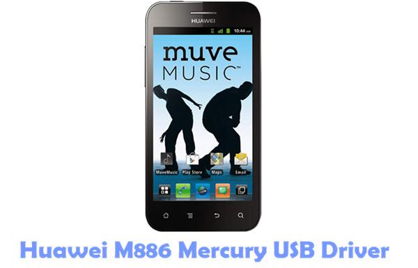 Download Huawei M886 Mercury USB Driver