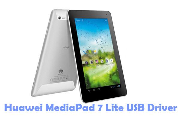 Download Huawei MediaPad 7 Lite USB Driver