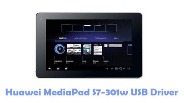 Download Huawei MediaPad S7-301w USB Driver