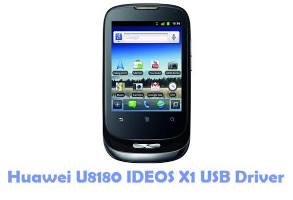Download Huawei U8180 IDEOS X1 USB Driver