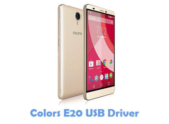 Download Colors E20 USB Driver