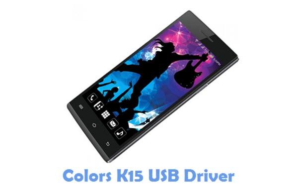 Download Colors K15 USB Driver