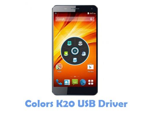 Download Colors K20 USB Driver