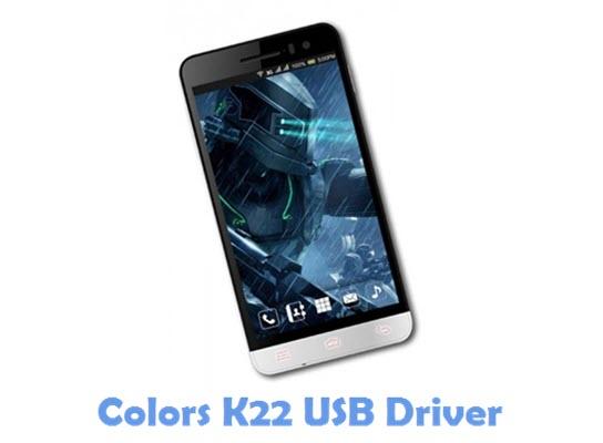Download Colors K22 USB Driver