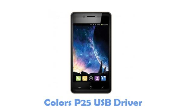 Download Colors P25 USB Driver