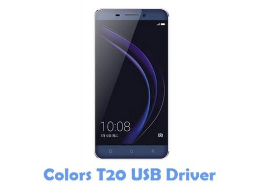 Download Colors T20 USB Driver