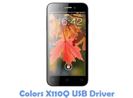 Download Colors X110Q USB Driver